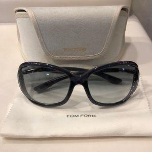 """💯Tom Ford""""Jennifer"""" Sunglasses Rare Dark Grey"""